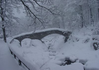 Piedicavallo, ponte della Coda alle Ravere