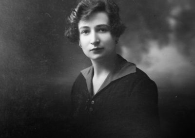 Peraldo Eusebiot Annetta nel 1920,  terza generazione