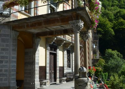 Rosazza, palazzina comunale