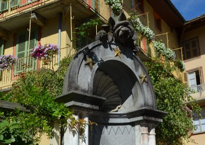Rosazza, fontana