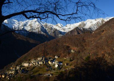 Montesinaro, panorama dall'alpe Fontana