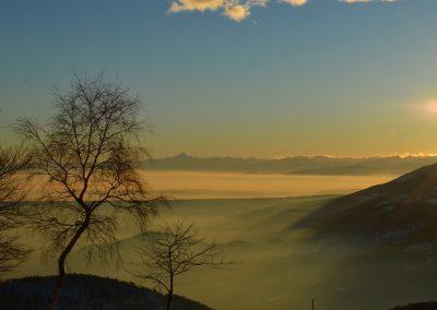 Bielmonte, panorama verso valle