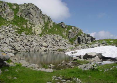 Lago del Giaspret