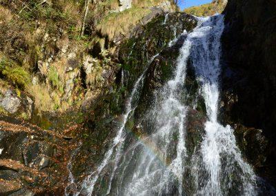 Cascata del Pianlin sul torrente Cervo